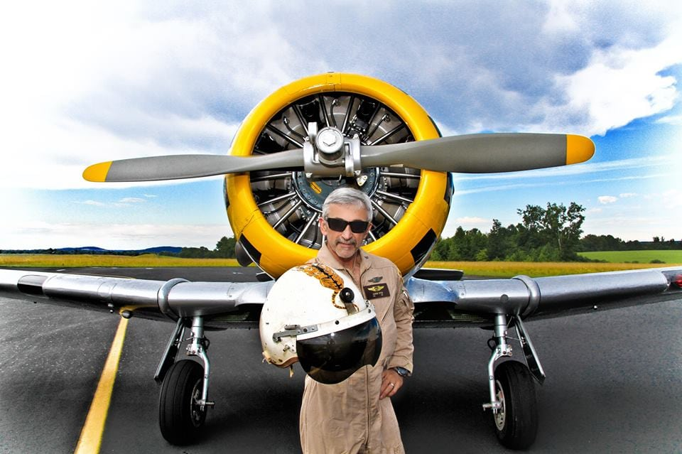 Aaron Tippin at Murfreesboro Aviation MRO and flight training center