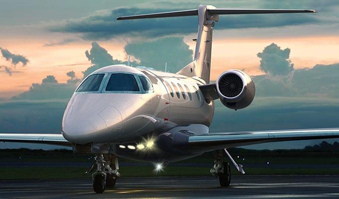 The Phenom 300 light business jet