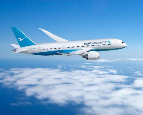 Xiamen Airlines Dreamliners, rendering