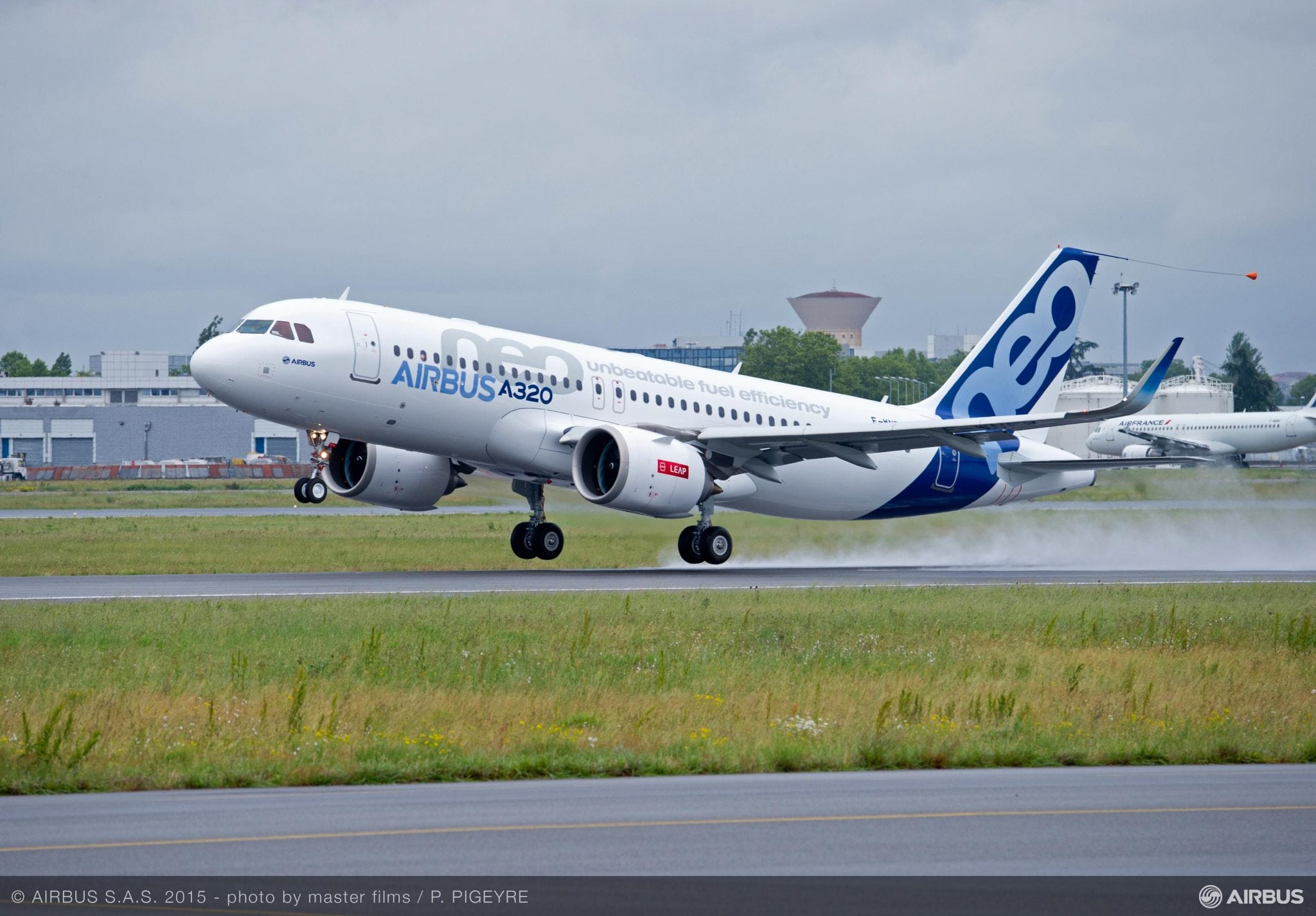 A320neo with LEAP-1A engines