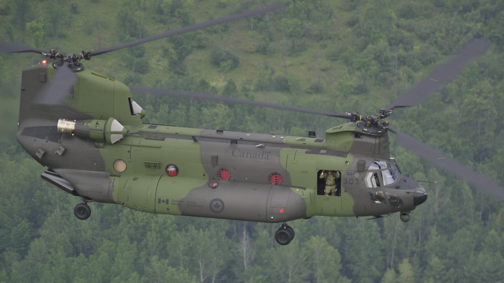 Royal Canadian Air Force CH-147F Chinook