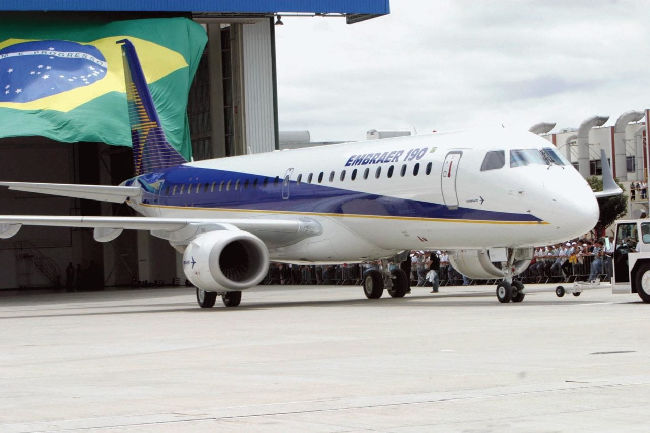 Embraer saw a drop in revenue as biz jet sales slow