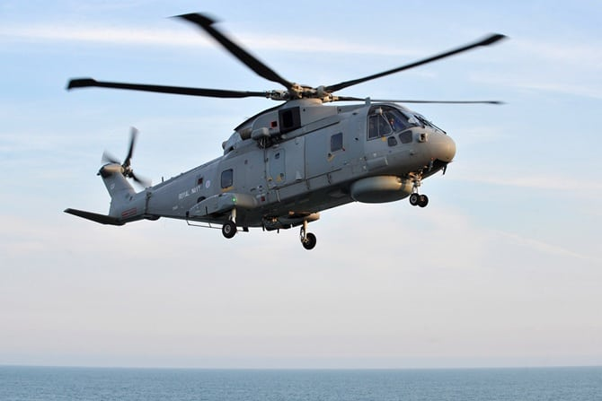 Royal Navy Merlin Mark 2