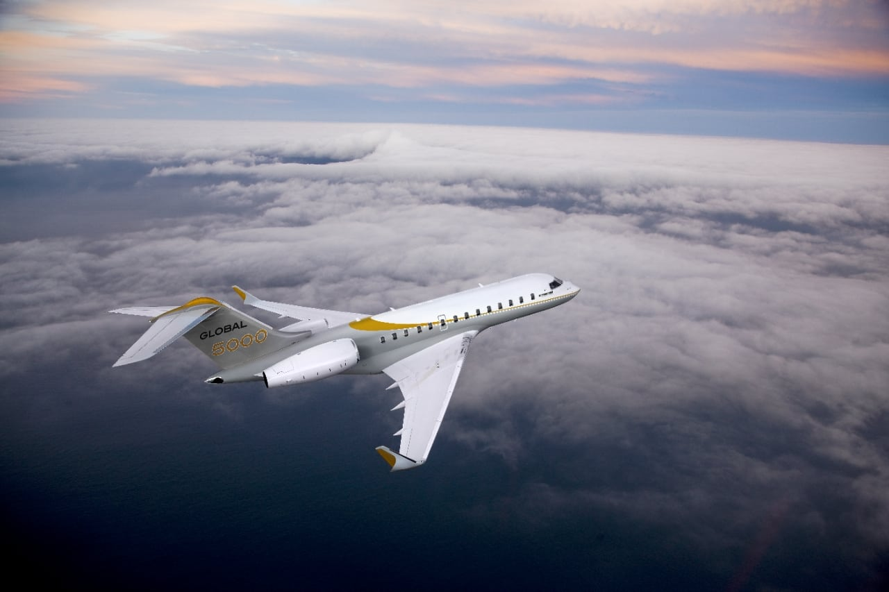 Bombardier's Global 5000 aircraft