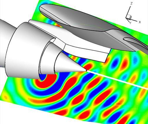 Aircraft noise simulation. Photo: Onera
