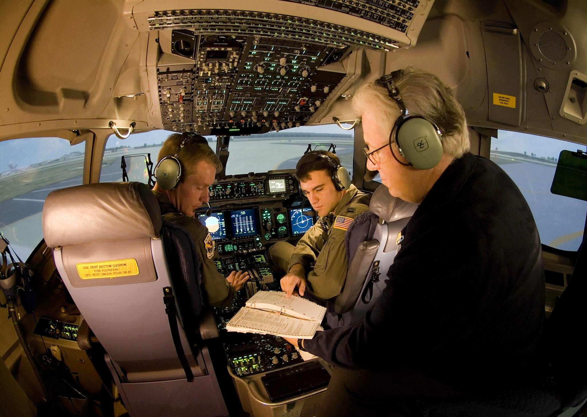 C-17 training at Altus Air Force Base, Okla.
