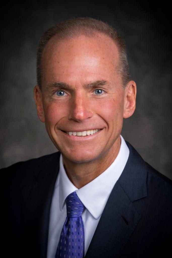 Boeing CEO Dennis Muilenburg. (Boeing)