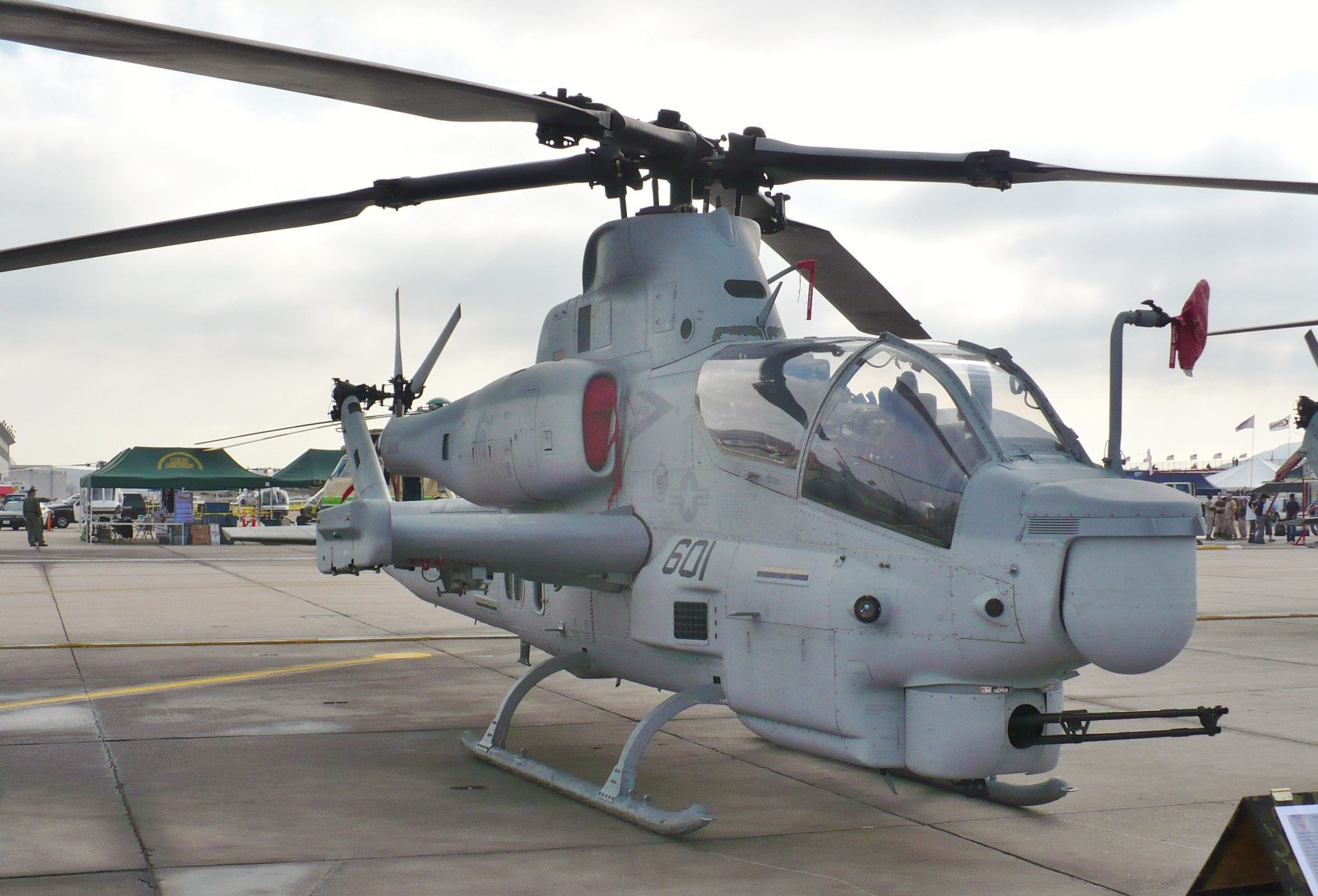 AH-1Z on display at the MCAS Miramar airshow on October 3, 2008.