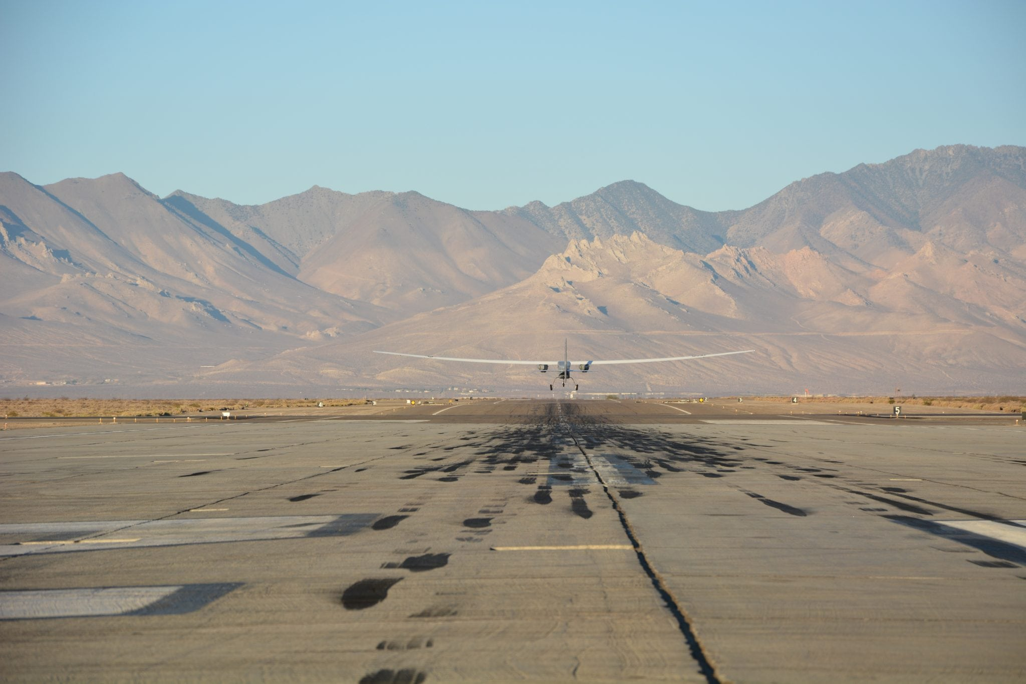 Aurora's Orion unmanned aircraft lands after breaking the UAV world flight endurance record