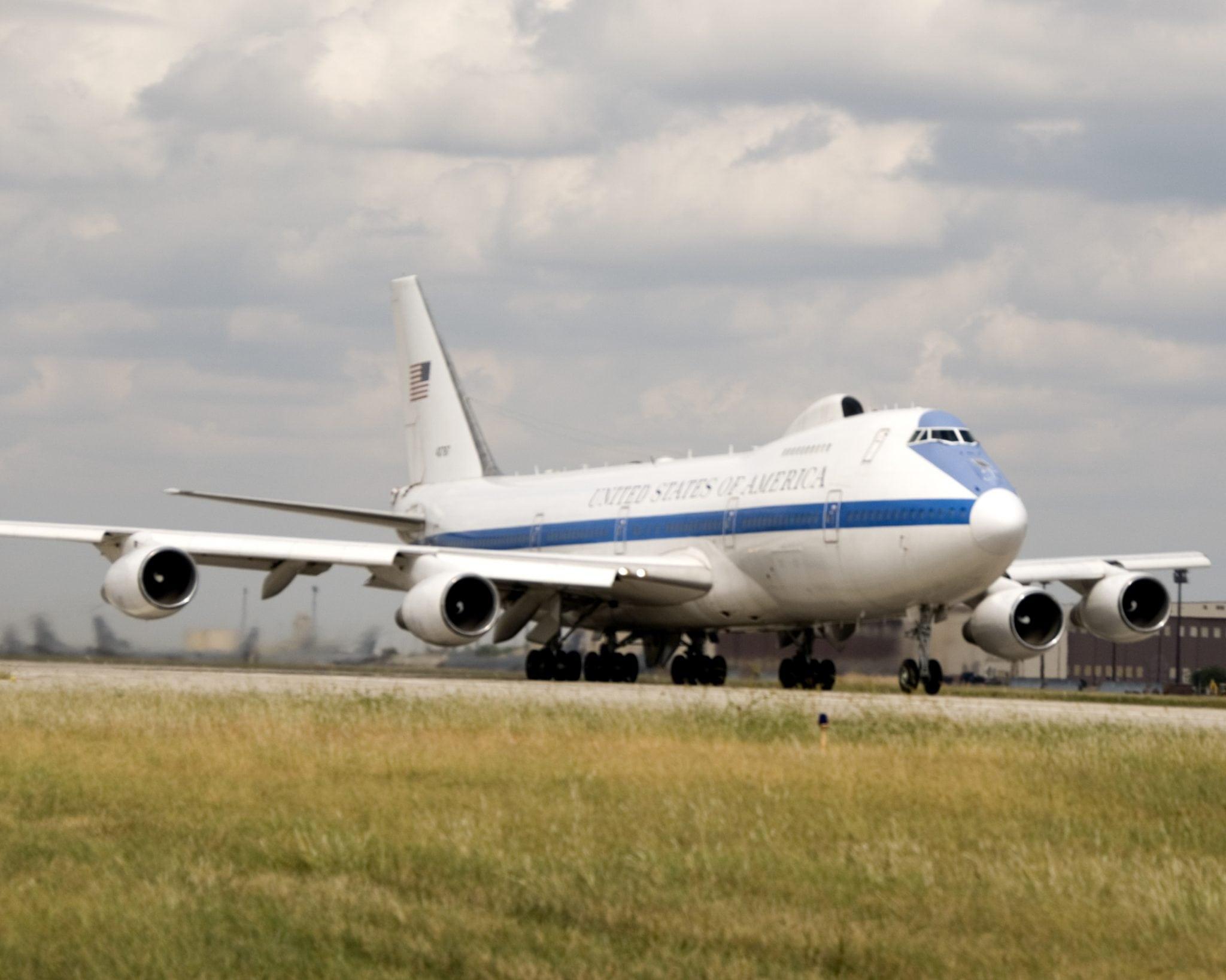 E-4B aircraft