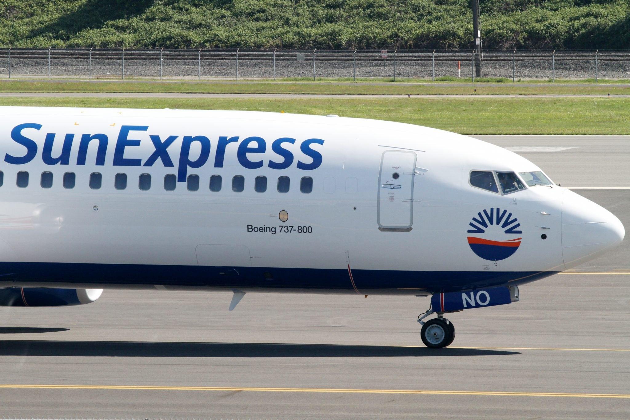 A SunExpress Boeing 737 aircraft