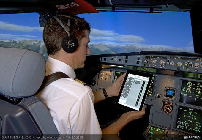 FlySmart, the Airbus Electronic Flight Bag (EFB) solution.