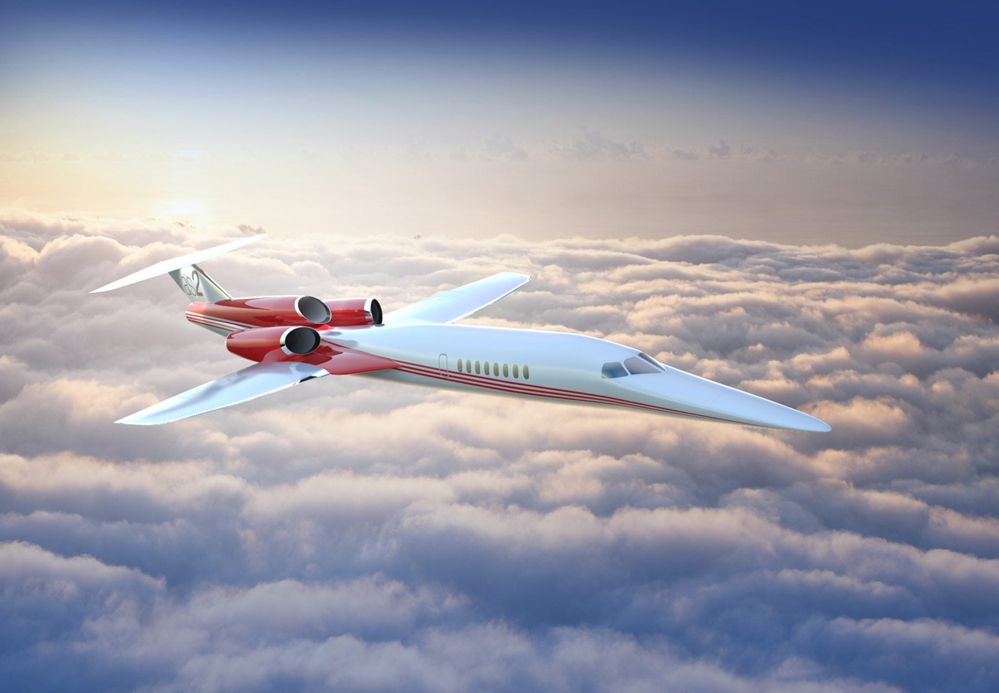 Aerion's AS2 supersonic business jet