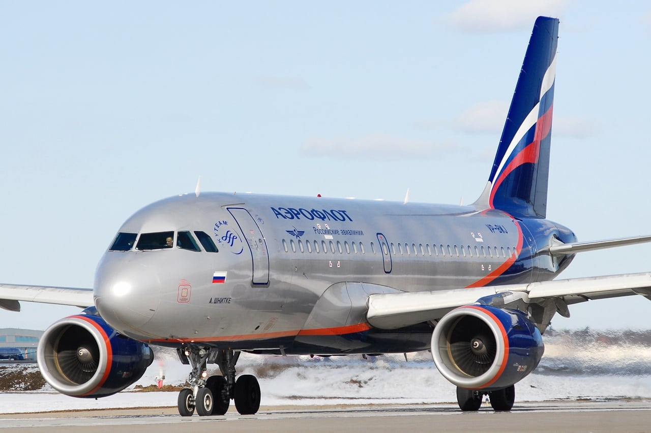 Aeroflot Airlines, Russia's flag carrier