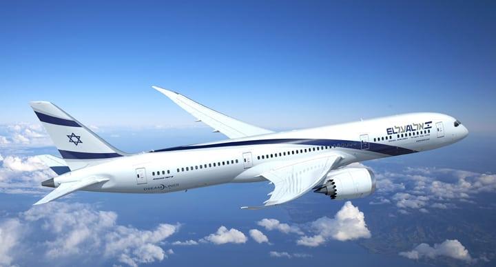 El Al 787 Dreamliner, rendering