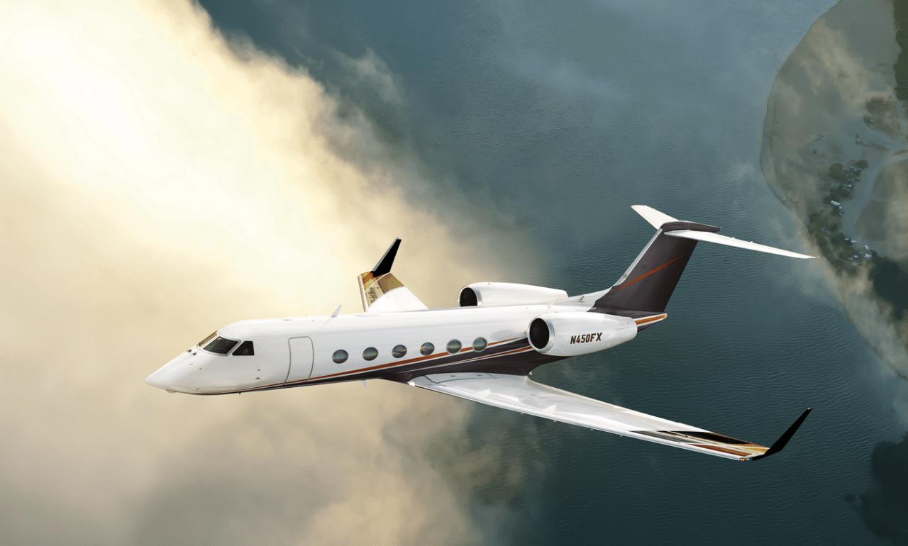 Gulfstream G450, rendering