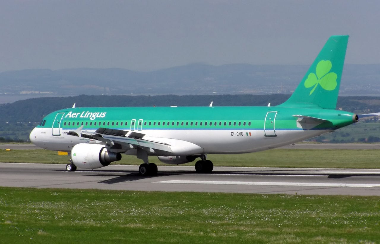 Aer Lingus, flag carrier of Ireland