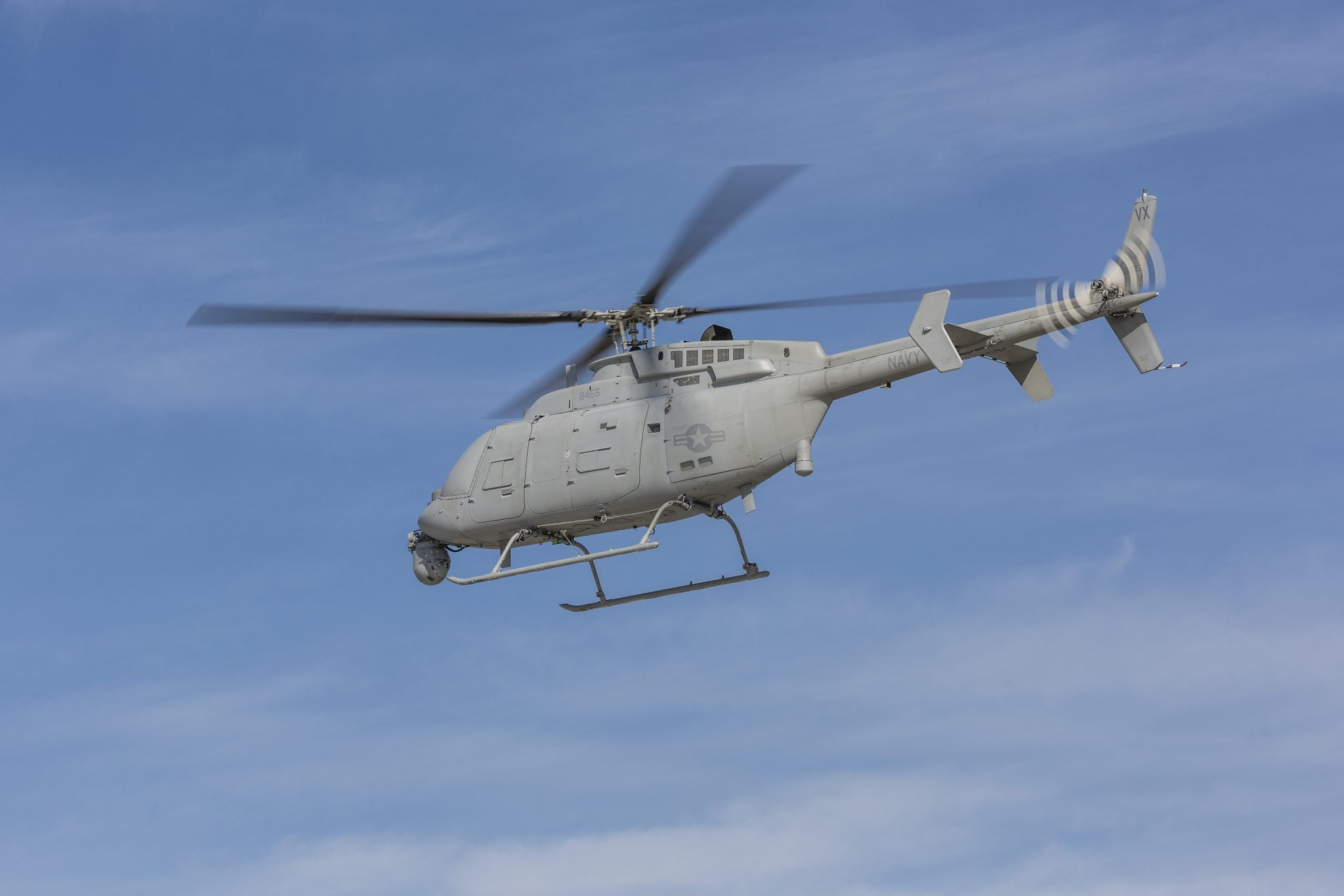 MQ-8C unmanned helicopter