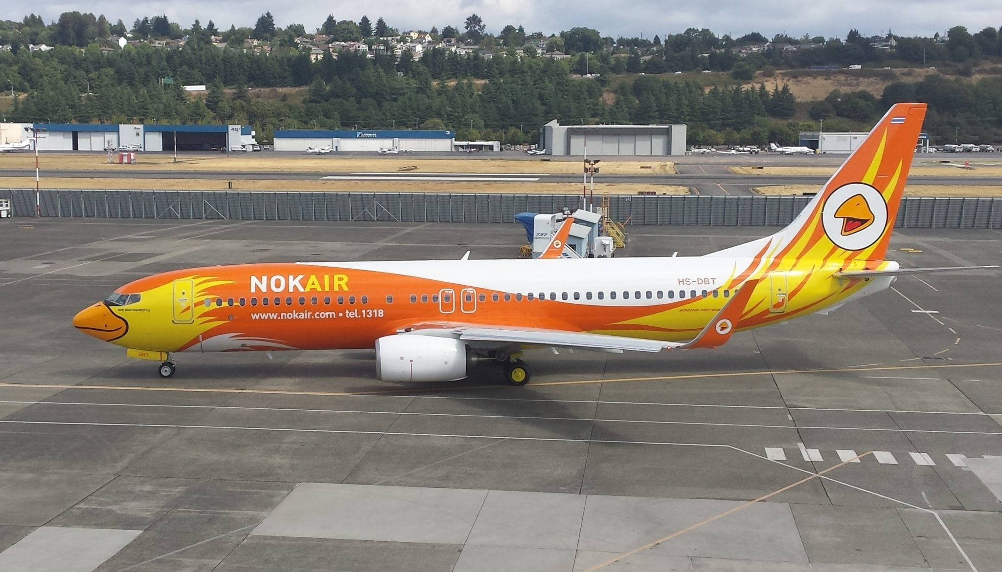 Nok Air 737-800 NG