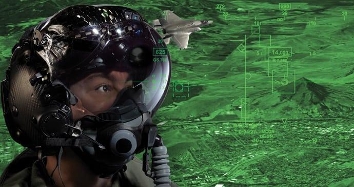 F-35 Gen II Helmet Mounted Display System