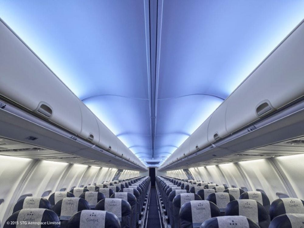 Holistic lighting aboard the Dreamjet, La Compagnie Boeing 757-200