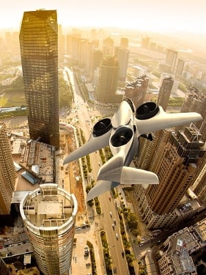 Rendering of the TriFan 600, from XTI Aircraft Company