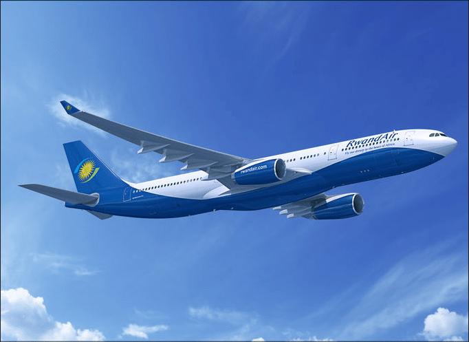 Rwandair Airbus A330, rendering