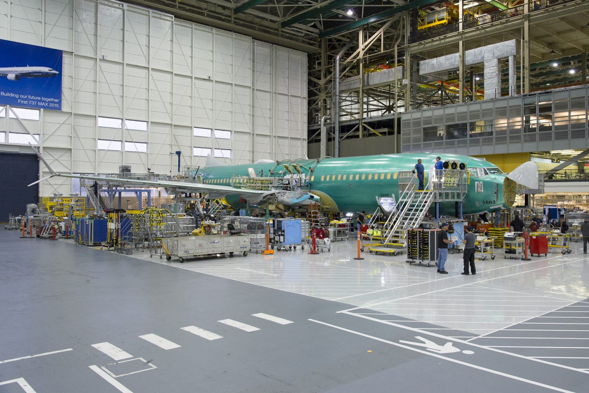 Boeing 737 MAX 8 assembly