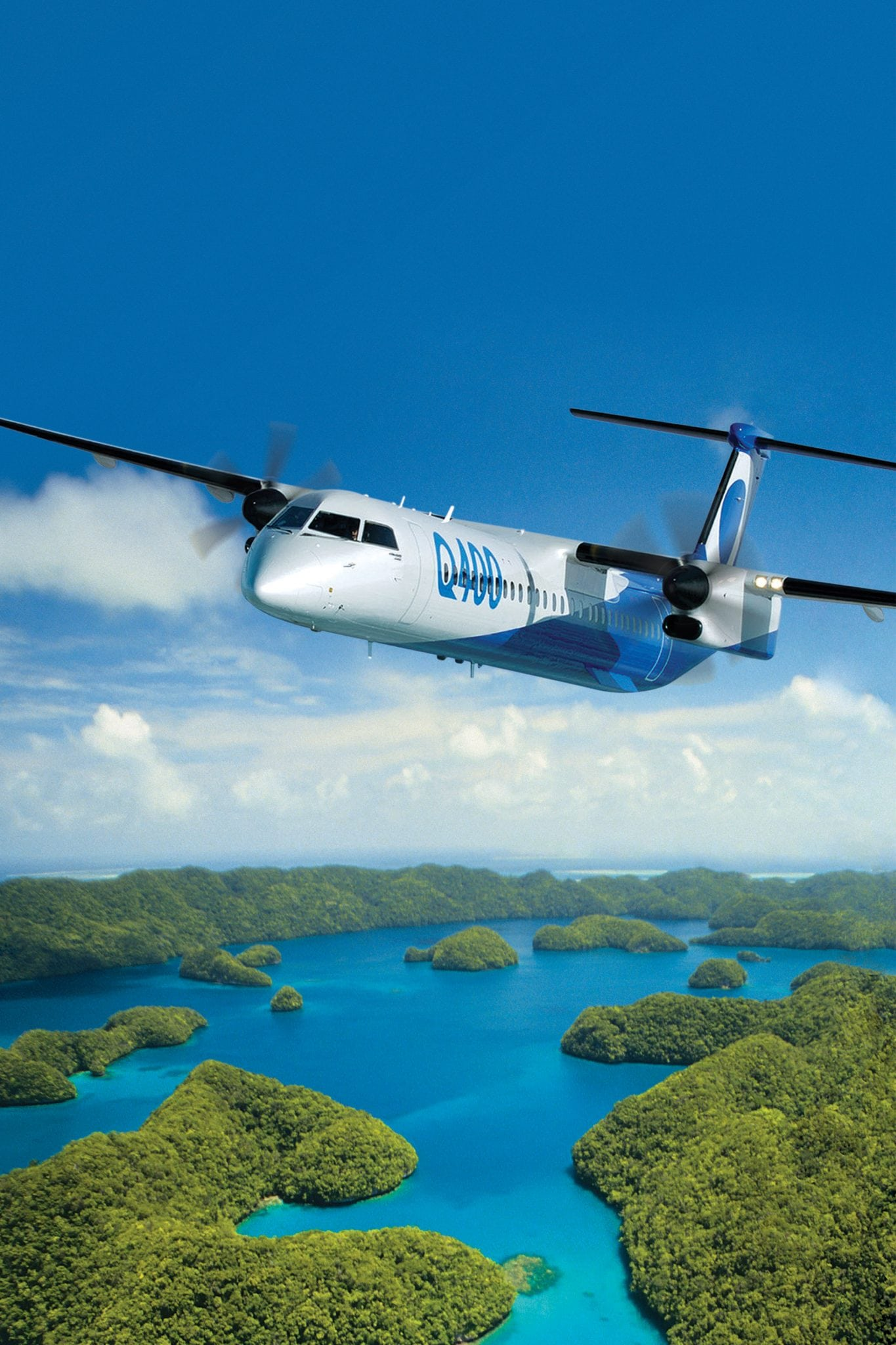 Bombardier's Q400 aircraft