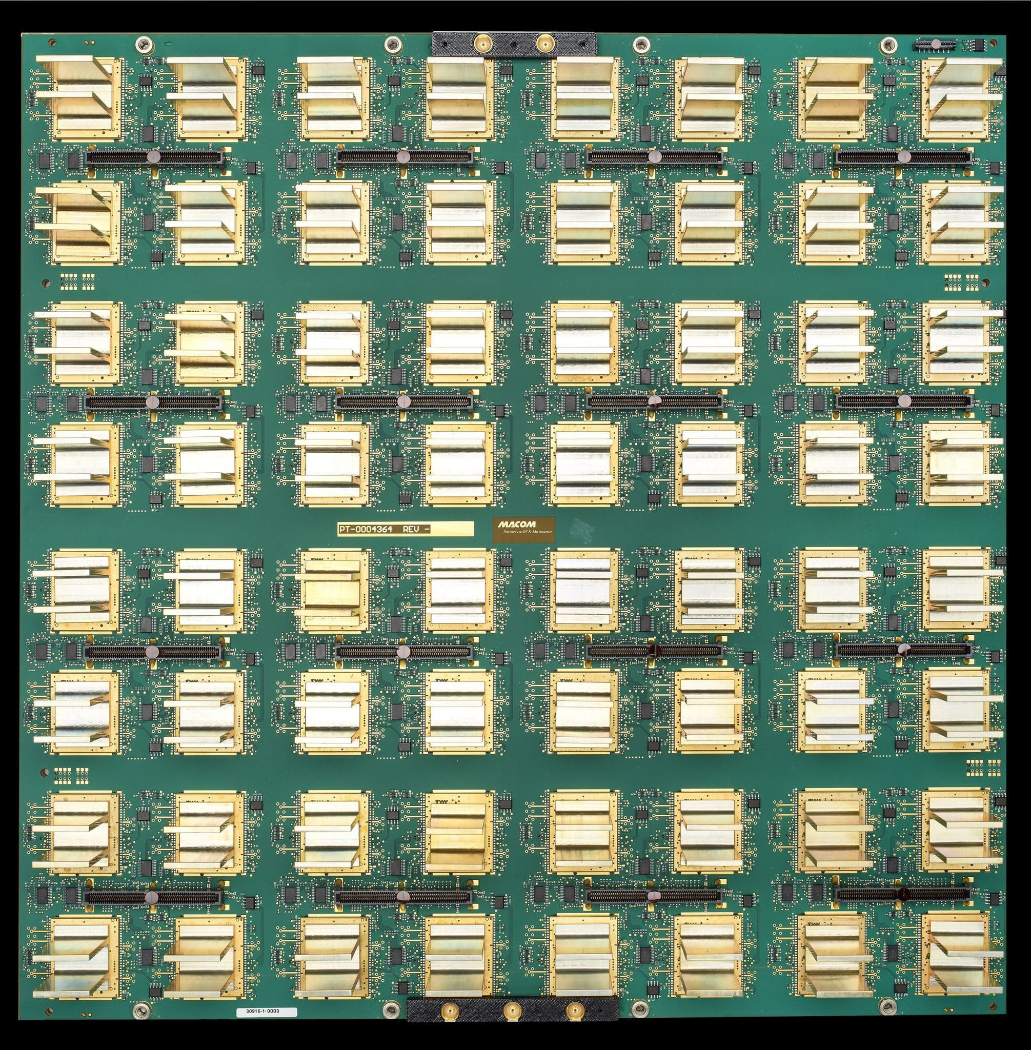 Multifunction Phased Array Radar (MPAR) technology developed by MACOM and MIT