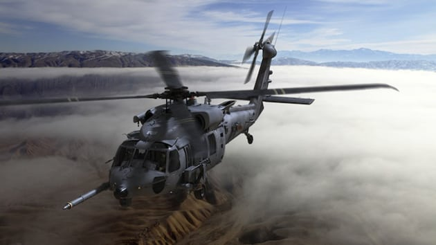 The U.S. Air Force Combat Rescue Helicopter for which Rockwell Collins will provide the  avionics and mission equipment