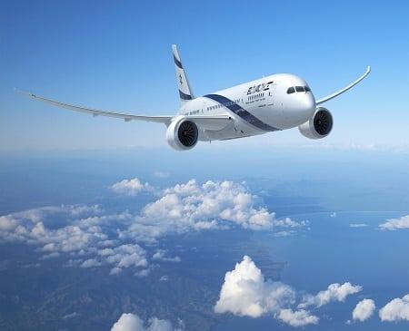 El Al 787, rendering
