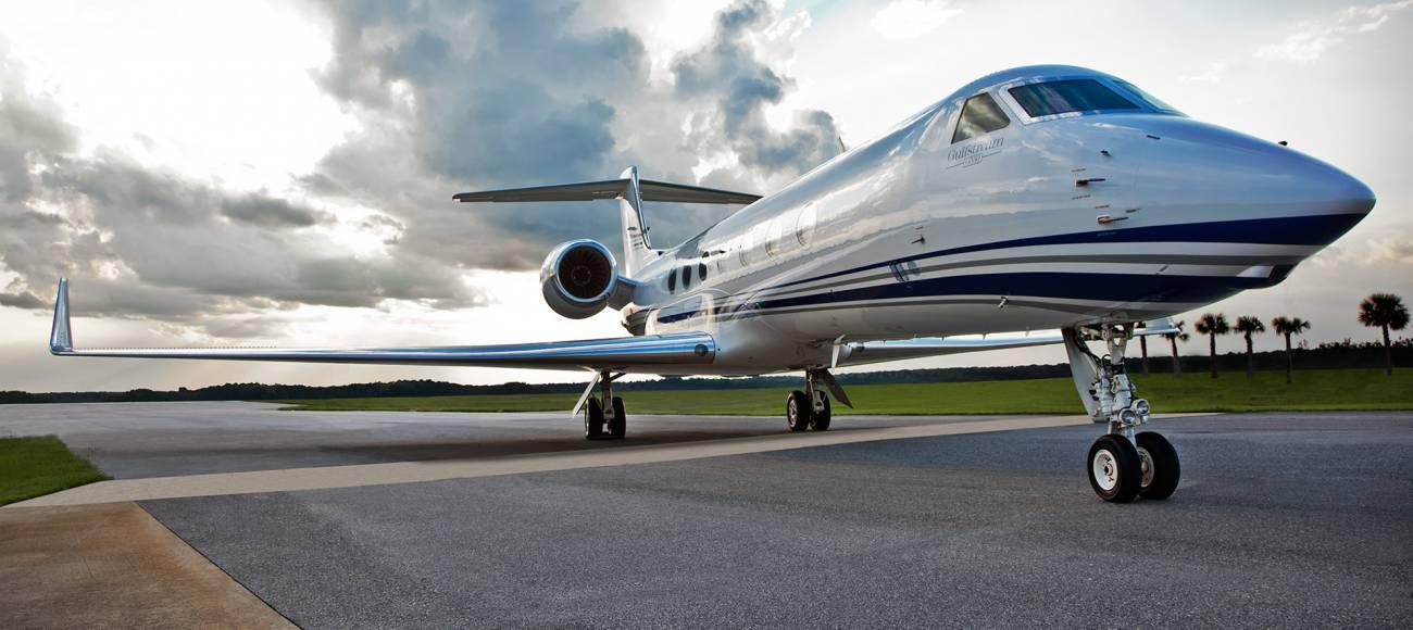 Gulfstream G550, part of the Gulfstream V business line