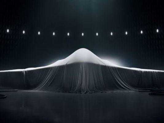 Veiled Northrop Grumman LSR-B Bomber