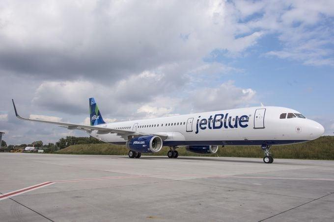 JetBlue A321 aircraft