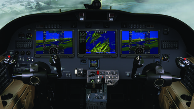 Pro Line Fusion flight deck solution for CJ3