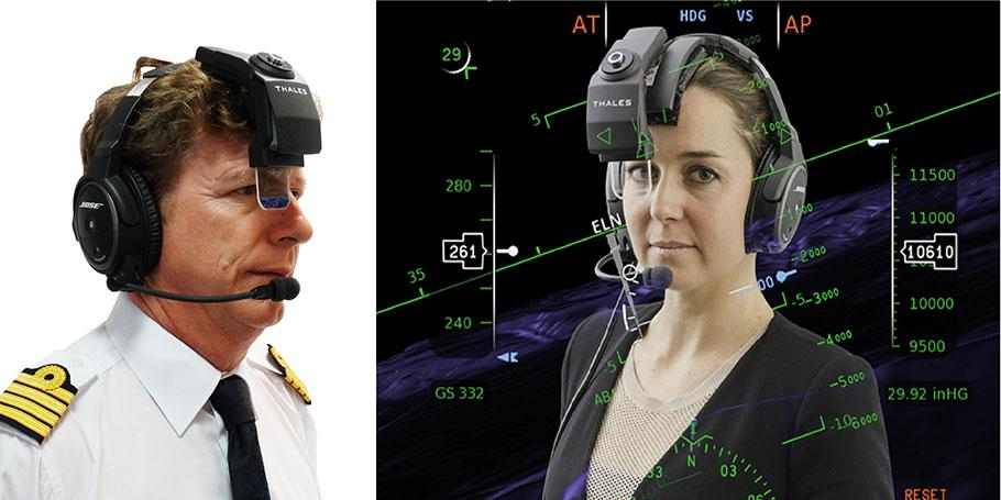 Thales TopMax head-worn display for the business aviation market