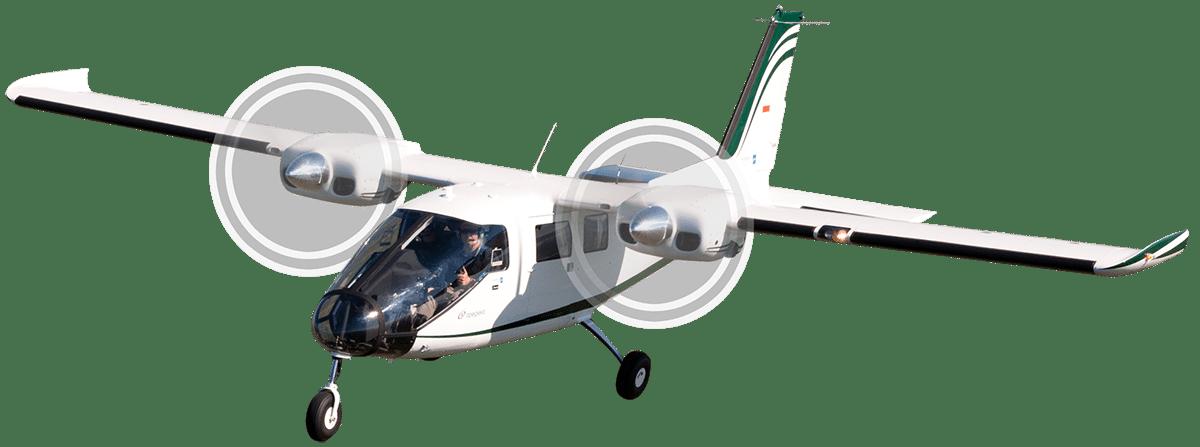Vulcanair's P68 Observer 2 aircraft