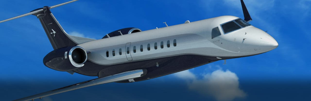 Embraer's Legacy 650 business jet
