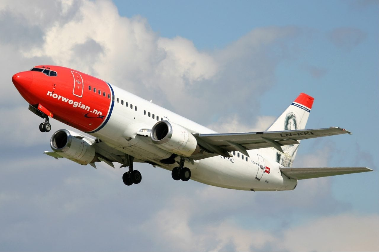 Norwegian Air Shuttle has launched Live TV trials on some of its flights