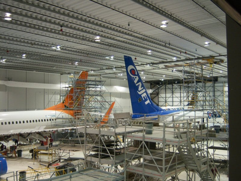 Premier Aviation maintenance facility