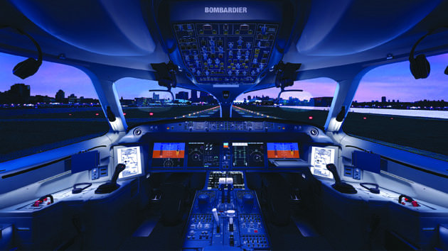 Rockwell Collins Pro Line Fusion flight deck