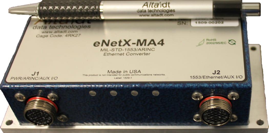 MIL-STD-1553 & ARINC-429/717 Ethernet Bridge Converter