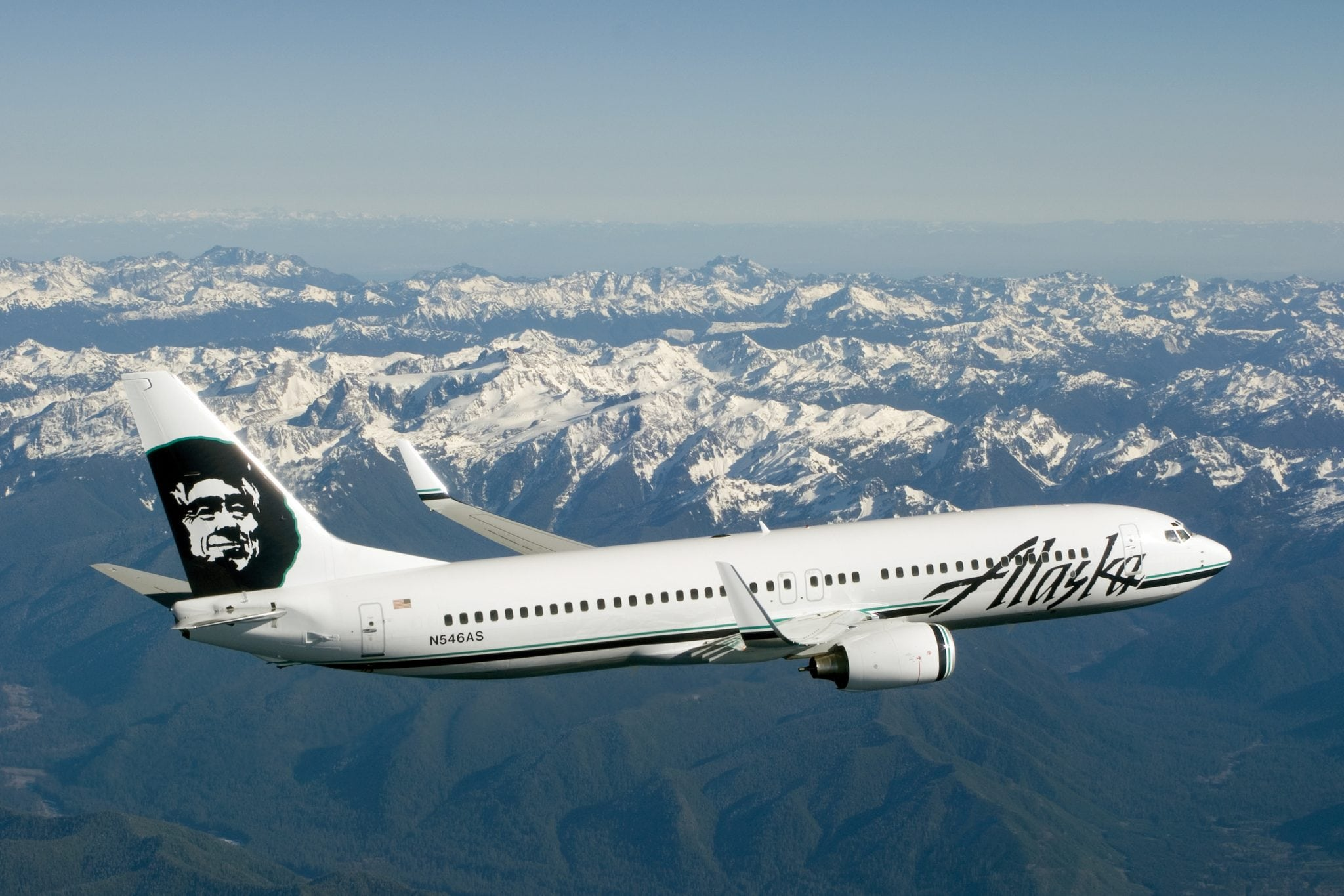 Alaska Airlines has seen an increase in yearly traffic