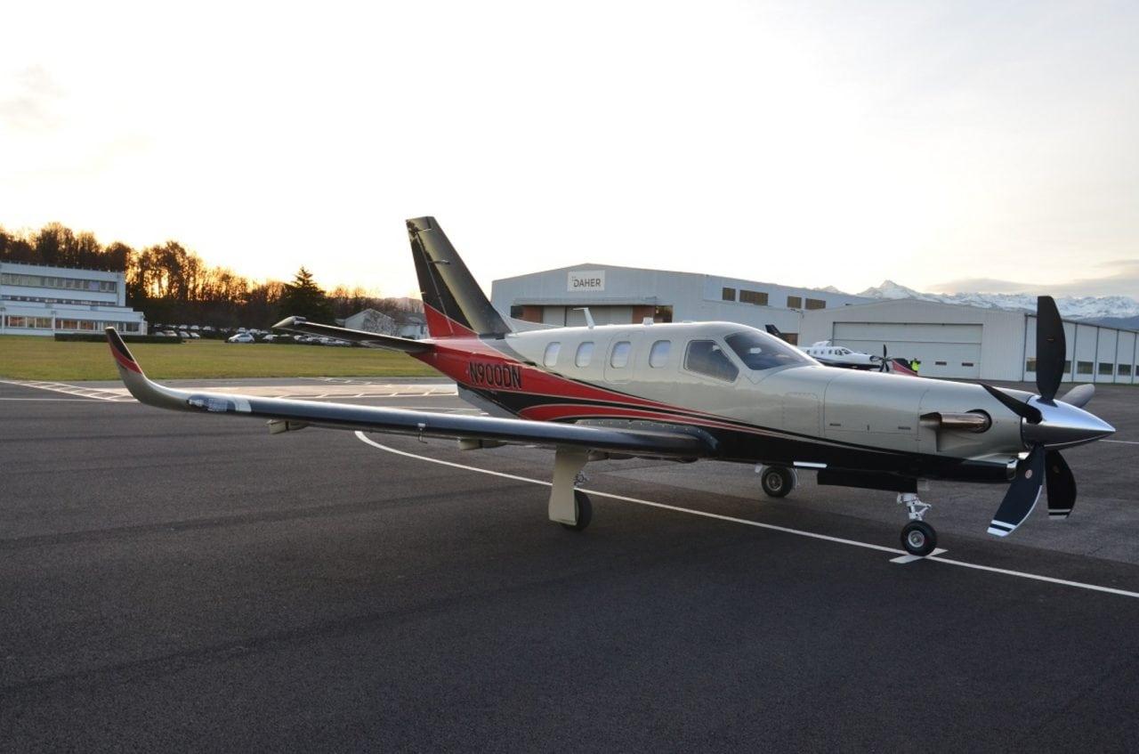 Daher's TBM 900 aircraft