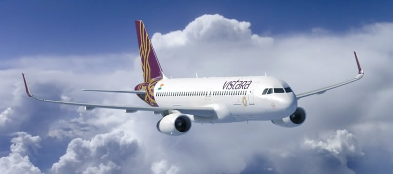 Vistara, an Indian carrier, has equipped its fleet of A320's with SITAOnAir's network technology