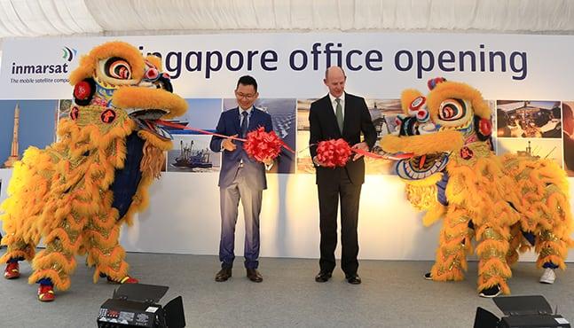 Opening of Inmarsat's Singapore office