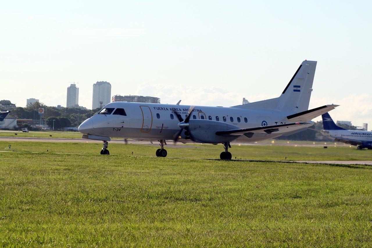 Saab 340B aircraft