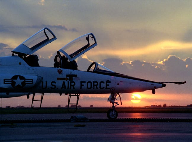 U.S. Air Force T-38 Talon trainer. Photo: Northrop Grumman