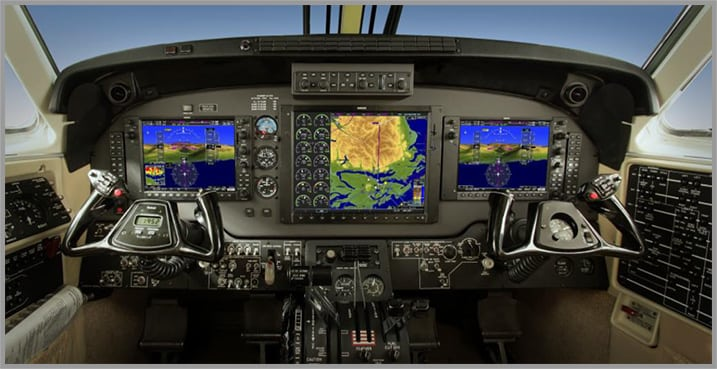 Garmin G1000 glass cockpit